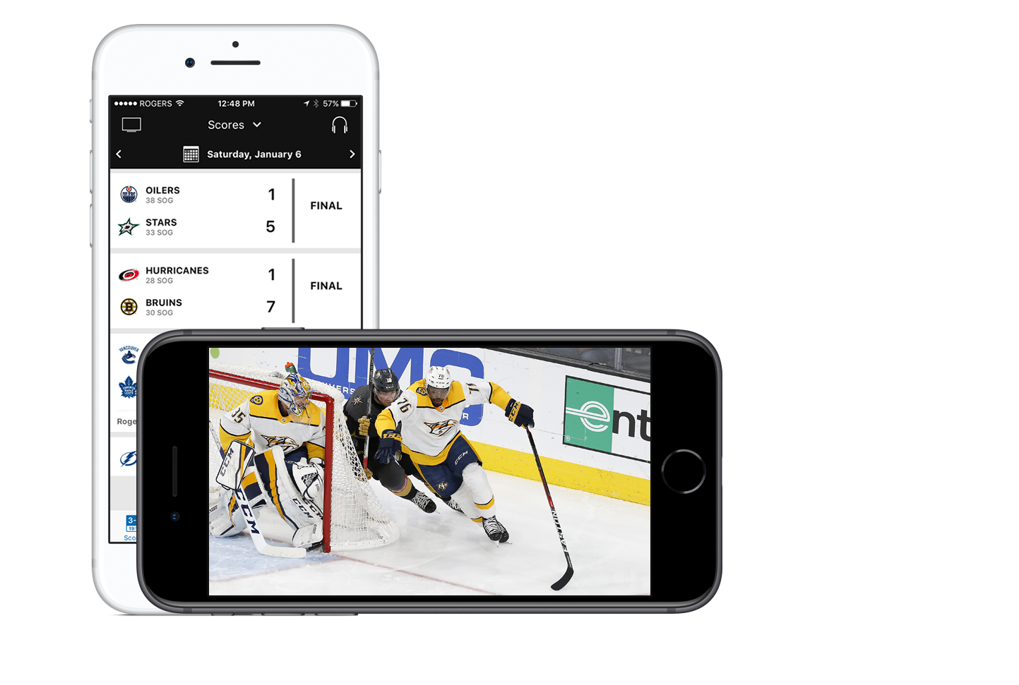 Stream Live NHL Games on Rogers NHL LIVE™
